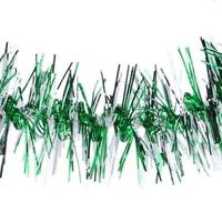 10pcs Christmas Tree Ornaments Ribbon Colorful Bar Tinsel Xmas Decoration Green 65078