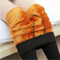 fashion extra thick soft plush women warmer leggings winter leggings pants