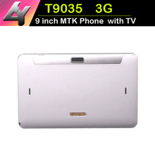 New Models 9 inch Phone Tablets 3G WCDMA With TV Function MTK6572 Dual Core HD Screen 4.4 Bluetooth GPS 512MB/8GB Dual Camera