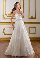Sexy White Chiffon Wedding Dress Custom