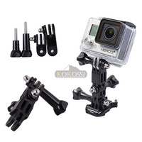 3-Way Mount Pivot Arm Assembly Extension+Thumb Knob For GoPro Hero 2 3 3+ 4
