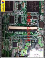 original DA0OT1MB8G3 for hp NC2400 motherboard 412792-001 Integrated laptop motherboard 100% Test ok