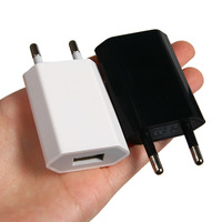 Universal 5V-2A USB Ports EU Plug Home Travel Wall AC Power Charger Adapter for iPhone 4S 5 iPad for Galaxy S3 S4 Note3 L01338