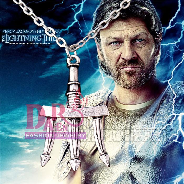 Percy Jackson the Olympians The Sea of Percy Jackson necklace Poseidon necklace(China (Mainland))