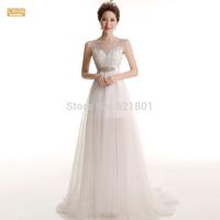 Bride fishtail a line wedding dress 2015 new trailing wedding dress vestido de noiva vestido de festa longo bridal gown 510