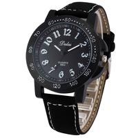 Dalas Luxury Brand Watches Men Relogio Masculino Leather Strap Wristwatch Men Military Sports Watch Male Clock Quartz Watch