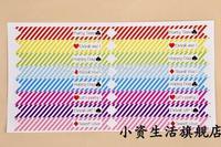 112pcs/lot Wedding Party straw decoration denim dessert station Straw stickers /  Baking packaging sticker / pudding stickers