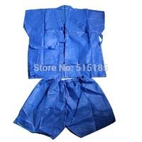 Wholesale man's one-off non-woven fabric bathrobe spa disposable sauna suits for beauty salon
