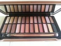 2014 New nake make up 24 earth tone colors Makeup set NK4 Metallic Eye shadow cosmetic NAKE 4 eyeshadow palette