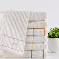 2014 New bulk 7PCS/SET 30*70cm Cotton towels face care towels novelty MMY Brand Hand towels Toalha terry cloth Free shipping