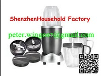 16 piece/lot Nutri Bullet Food Mixer Extractor Blender Machine 220V 600W 12pieces IN 1 New,AU/US/UK/EU Plugs 220v or 110v