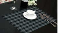 Countryside style Woven vinyl placemat PVC mat ideal for Restaurant and Home table mat