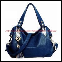 2015new women messenger bag Genuine Leather Bag Women Shoulder Bag women handbag crossbody bag tassels leather handbags hot tote