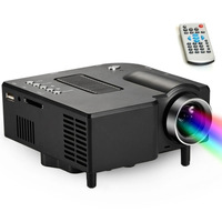 1080P Full HD Digital Projector Multimedia Mini Portable LED Projector for Home Use Teach HDMI pocket projector 100Lums Freeship