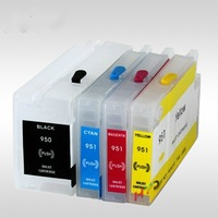 wholesale refillable ink cartridge containing chips for HP Officejet Pro 8600