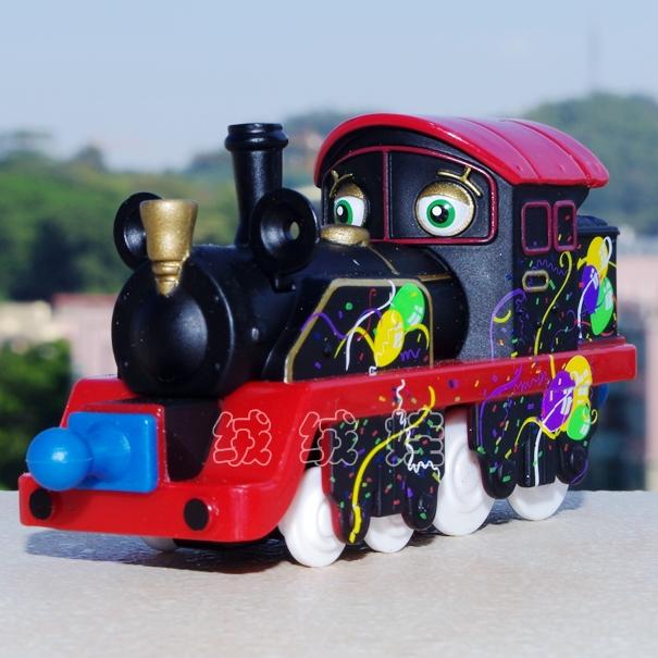 100% ORIGINAL CHUGGINGTON TRAIN - COLOR OLD PUFFER PETE(China (Mainland))