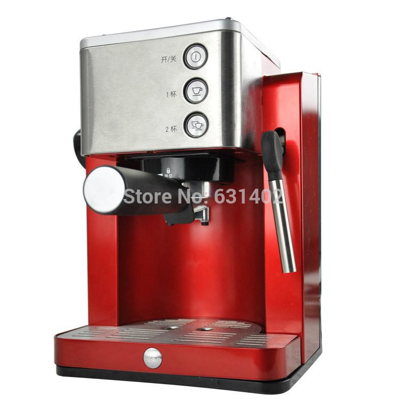 Eupa Semi-automatic espresso coffee maker 15bar 6-10 cups high pressure Electronic coffee machine with milk foam maker(China (Mainland))
