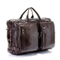 2015 real solid bag bolsas femininas genuine leather bulk bags shoulder men 17 inch laptop totes fashion business promotion