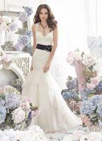 New Noble white/Back wedding dress custom size