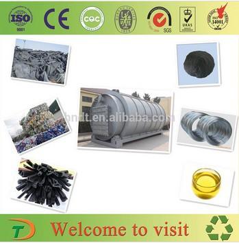 motor de reciclagem de pneus planta de pirólise e destilação de plantas suppier respeitável e fabricante(China (Mainland))