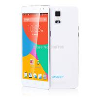 New Smart phone UHappy UP550 Android 4.4 Quad Core MTK6582 5.5 Inch HD Screen 3G WCDMA GPS WIFI 1GB RAM 16GB ROM 13MP Camera