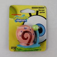 5cm /2 '' H Small Spongebob Gary Snail Home Fish Aquarium Ornament Decor Resin Decoration for Kids