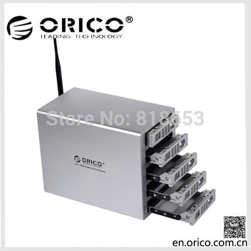 ORICO Wi-Fi-NAS 3559U3RF 5 bay 3.5'' RAID External Enclosure(China (Mainland))