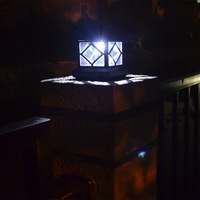 Solar Powered Panel LED Outdoor Lighting Solar Garden Light Pathway Spotlights Solar Yard Decoration Lamps