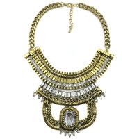2014 New Z design wholesale women fashion necklace costume chunky choker bib statement Necklace