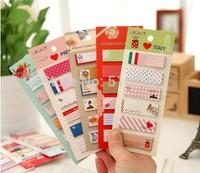 Free Shipping 10PCS/LOT Korea Stationery Cartoon Style Animal Series Vintage design Memo Pad Promotion Gift