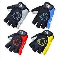 Word m Riding Gloves Half-finger Mountain Bike Gloves Short Finger Leather Gloves Bicycle Gloves Free shipping