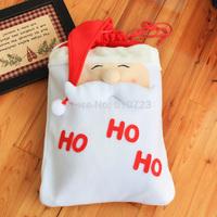 whole sales,Christmas decorations gift bag non-woven Christmas products HO HO HO~~~Santa Claus decoration