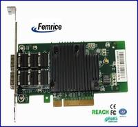 10Gbps Ethernet Fiber Optical Card Dual Ports SFP Slot Server Network Card