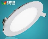 LED panel lights 3W LED panel lamp 85V-265V 2835 SMD Ceiling light wholesale warm white cold white free shipping