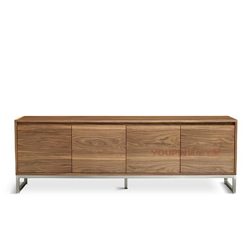 Walnut Veneer Furniture Sideboard Walnut Veneer