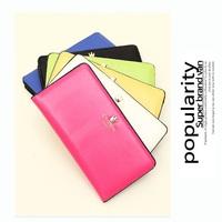 50pcs/lot Cute Crown handbag Fashion Wallets clutch purses Women leather wallet cell phone bag Wholesale