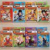 Dragonball 8pcs/lot Evolution Son Goku Vegeta Master Building Blocks Minifigures lego compatible Toys For Children