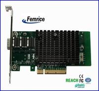10G Ethernet Server Adapter 10 Gigabit single sfp Slot  SFP Slot Card PCIe x8 Network Interface Card