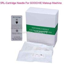 Good Quality 15Pcs 5RL Cartridge Needles For GOOCHIE Permanent Makeup Machine Free Shipping(China (Mainland))