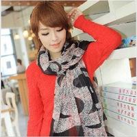 4 Color Leopard Scarf Printed Women Scarf Long Shawl Cape Fashion Bohemian Brand Winter Female Scarves 160cm*45cm (1010c28)