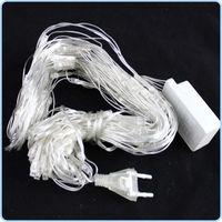 LED string light 220V 1.5m*1.5m 96 LEDs net light waterproof outdoor decorative lights holiday Christmas light free shippin