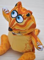 Large chipmunk-- The cartoon Cotton animal shapes Dog Toys Pet  Vocalization cat Toys