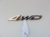 NEW 4WD car stick emblem 4 wheel drive SUV for Ford Toyota Jeep CR-V RAV4