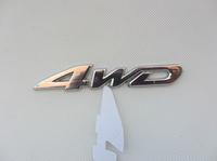 NEW 4WD car stick emblem 4 wheel drive SUV for Ford Toyota Jeep CR-V RAV4
