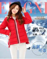 2014 new arrival warm short wadded jackets women winter coat female outerwear 4 colors L XL XXL