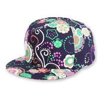 2014 new fashion flower Floral hip hop hat snapback cap touca gorro brand men's women's hats baseball bones bone aba reta H120(China (Mainland))