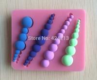 Fondant Cake Decorating Tools Silicone Cake Mold Molds Fondant Bakeware Pearl Shape Cake Tools Kitchen Accessories-P150