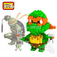 Loz Creative DIY Diamond Educational Toy, 200Pcs / 1Set, Teenage Mutant Ninja Turtles Michelangelo Christmas Gifts. 9150