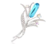 Free shipping 2014 New Wholesale brooch Crystal Jewelry Rhinestone Brooch Women Brooch For Wedding BR029