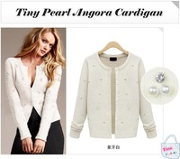Free shipping 2014 autumn spring winter female cardigan sweater outerwear thin all-match elegant sweater
